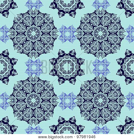 Seamless Decorative Pattern In Oriental Style