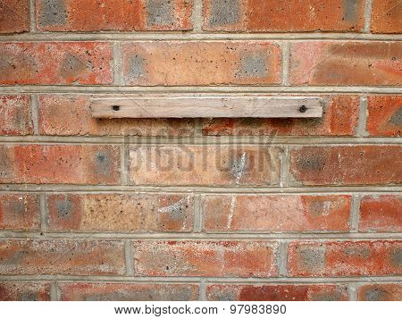 Fragment Of A Brick Wall