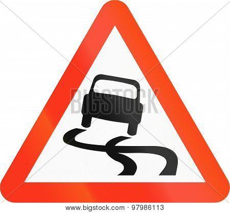 Slip Danger In Bangladesh