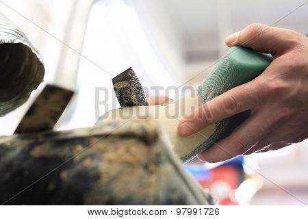 Designing shoes, occupation shoemaker