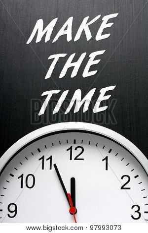 Make The Time Clock