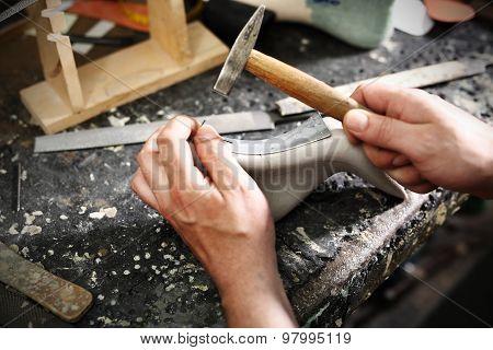 Jobs shoemaker, an artist craftsman