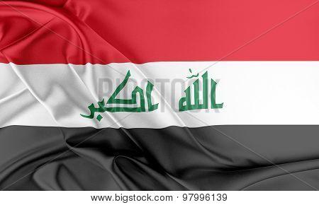 Iraq Flag.