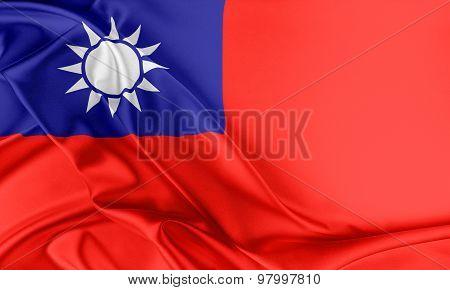 Taiwan Flag.