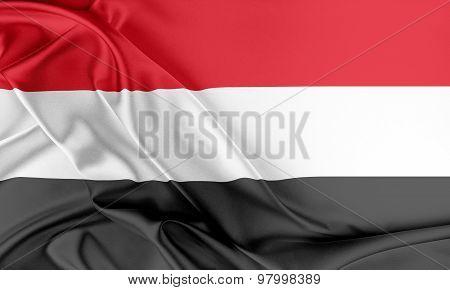Yemen Flag.