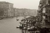 Dreary Day In Venice