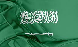 stock photo of flags world  - Saudi Arabia Flag - JPG