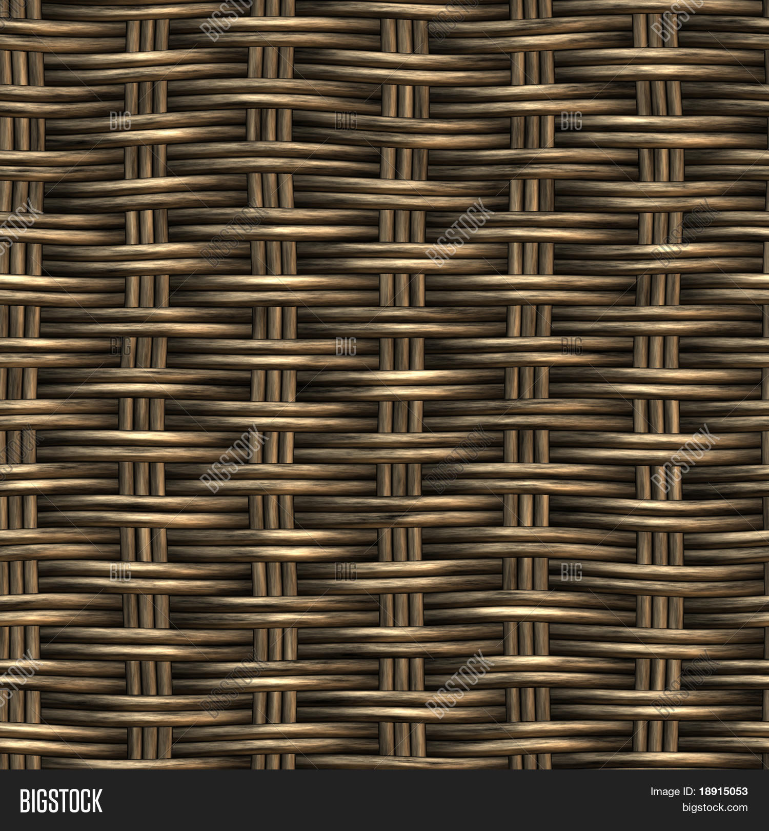 Rattan Basket Weaving Patterns : Wicker basket weaving pattern image photo bigstock
