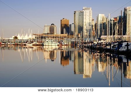 View Of Downtown Vancouver, Canada