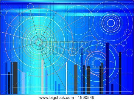 Futuristic Circular Shapes