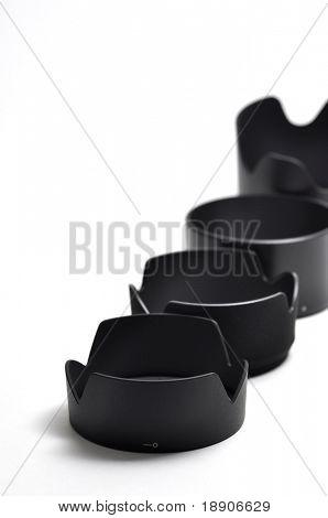 Camera lens hood pattern
