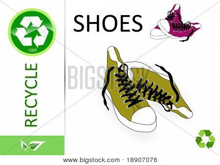 Please recycle shoes
