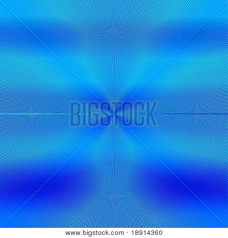 detailed interference pattern in bluish tones shades