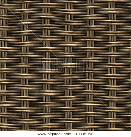 wicker basket weaving pattern, seamless texture for background