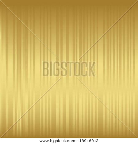vector golden stripy background, would make a nice Christmas wrapping paper ot background