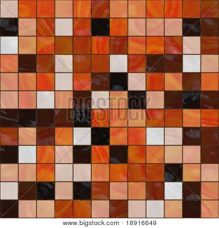 ceramic tiles in warm colors, seamlessly tillable