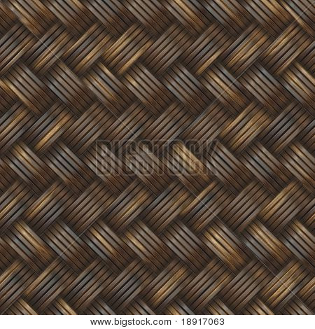 tightly woven dark golden pattern, seamless texture for background
