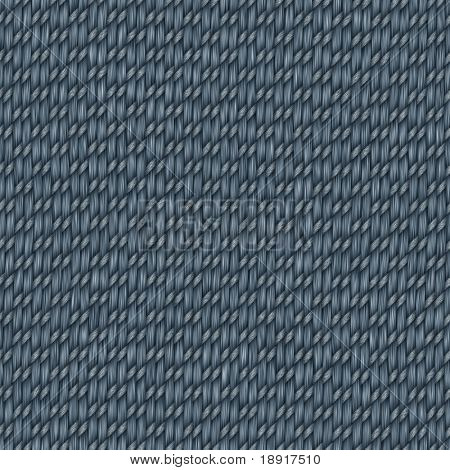 blue woven fabric jeans style that tiles seamless in all directions