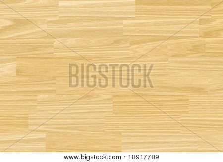 Plain wooden parquet floor background texture.