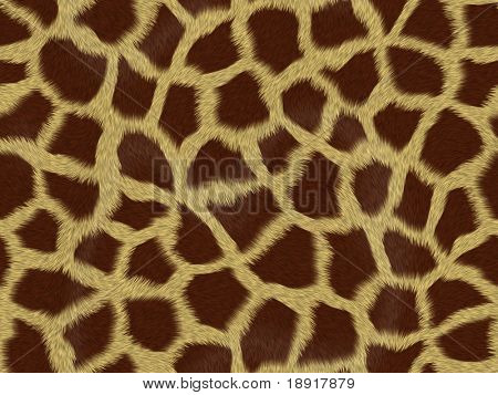 giraffe fur background texture that tiles seamless as a pattern