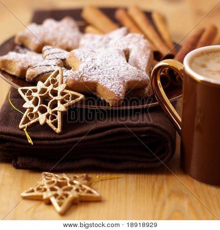 Lebkuchen und Kaffee