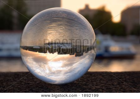 Refraction In The Glass Ball