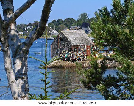 Maine Fishing Shack - Bailey's Island