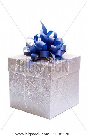 Geschenk-Box (isolated on White)