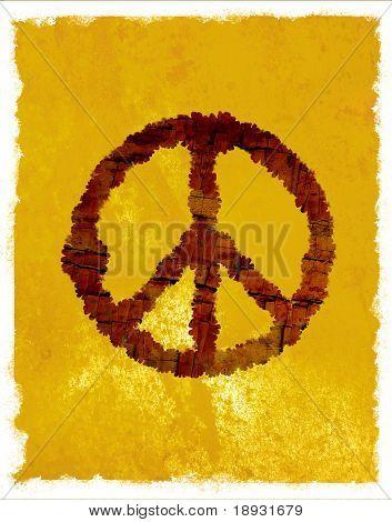 Hippie symbol