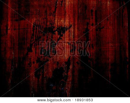 Grunge blot  on wooden background