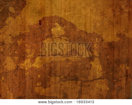 Old wooden painted surface, grunge background