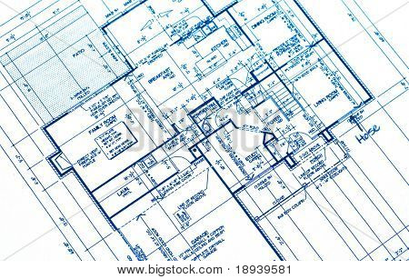 House plan blueprints from a new housing development image id18939581 house plan blueprints from a new housing development picture malvernweather Images