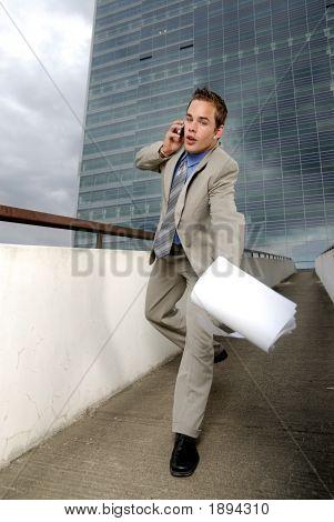 Butterfingers Businessman