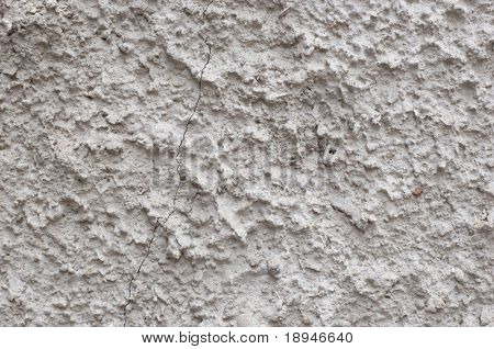 grunge rough cement texture with diagonal crack