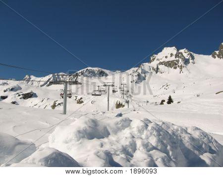 Wintersport Les Sybelles France