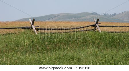 Montana Split Rail Fence