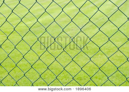 Background - Fence And Playing Field