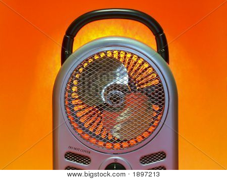 Electric Fan Heater 'B'