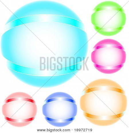refracting spheres in vector