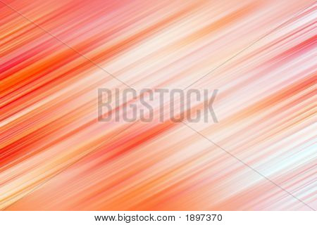 Abstract Red Blur Background