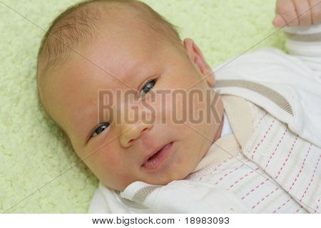 Newborn baby - 9 days old baby
