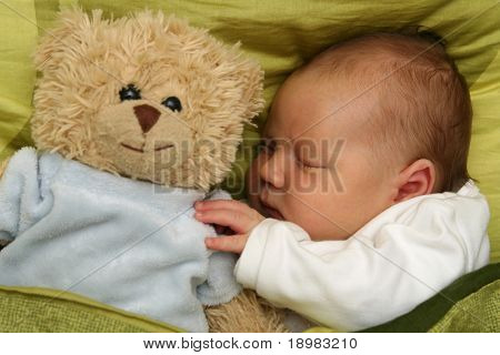 dreaming newborn baby - 3 weeks old baby sleeping