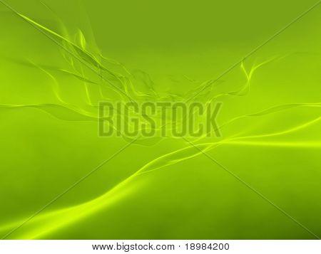 3d abstrakt grün hintergrund