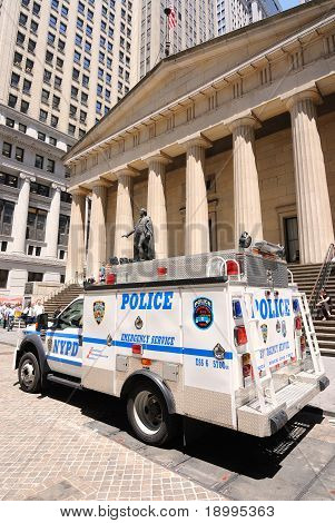 Police On Wall Street