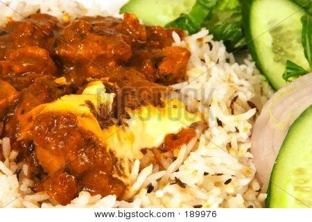 Curry de pollo de mantequilla