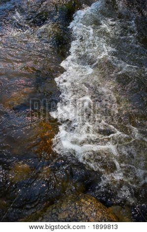 Small Rapids In A River