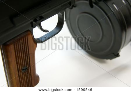 Close-Up Of Soviet Machine-Gun Rpd-44 Viii