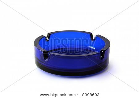 Blue Ashtray.