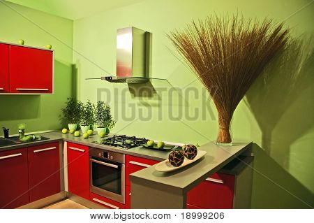 Attractive kitchen