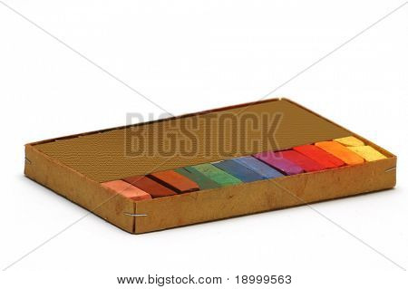 Box of chalk